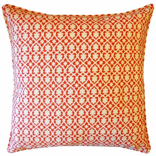 Jiti Speed Cotton Throw Pillow