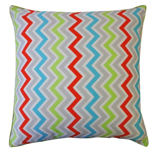 Jiti Zig Zag Cotton Throw Pillow