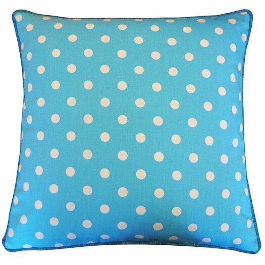 Jiti Dot Cotton Throw Pillow