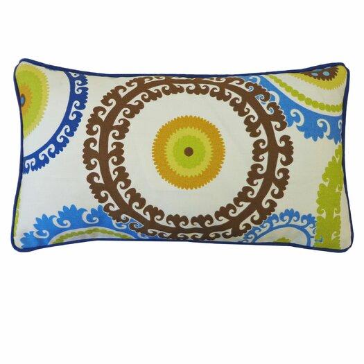 Jiti Buttons Outdoor Lumbar Pillow