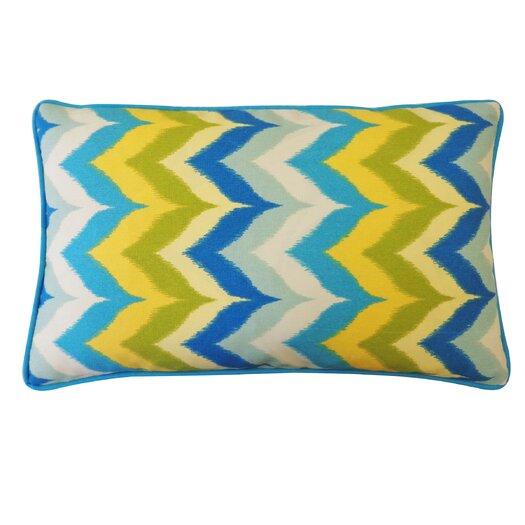 Jiti Dripping Paint Outdoor Lumbar Pillow