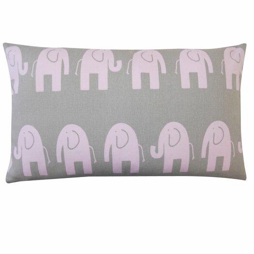 Jiti Elephant Outdoor Lumbar Pillow