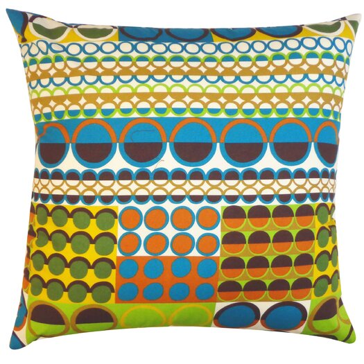 Jiti Johari Cotton Throw Pillow