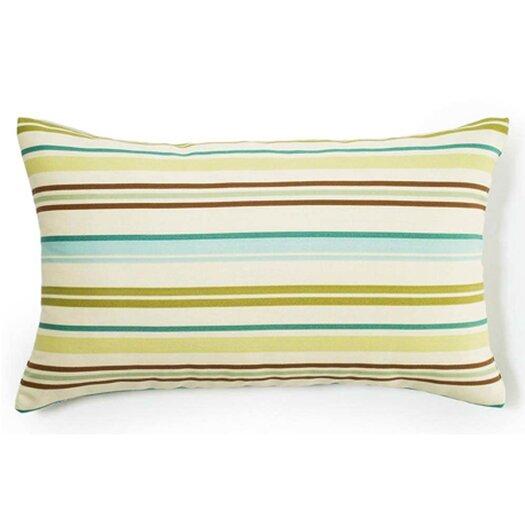 Jiti Thin Horizontal Stripes Indoor/Outdoor Lumbar Pillow