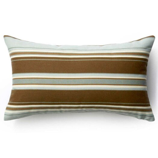 Jiti Thick Horizontal Stripes Indoor/Outdoor Lumbar Pillow