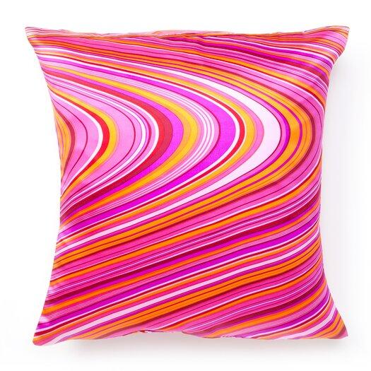 Jiti Psychedelic Silk Throw Pillow