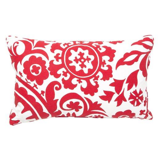 Jiti Suzani Cotton Lumbar Pillow