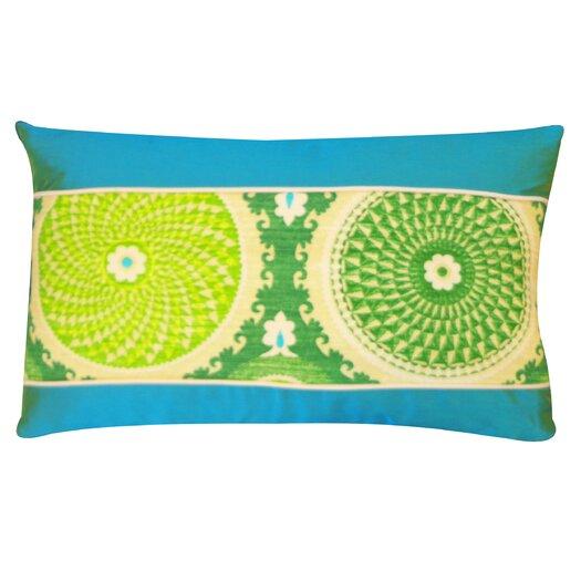 Jiti Coin Cotton Lumbar Pillow