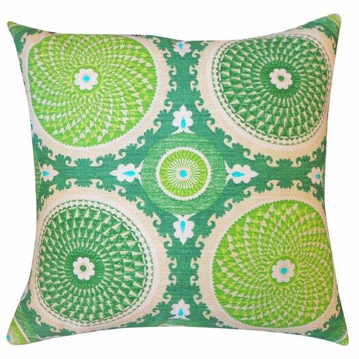 Jiti Coin Silk Throw Pillow