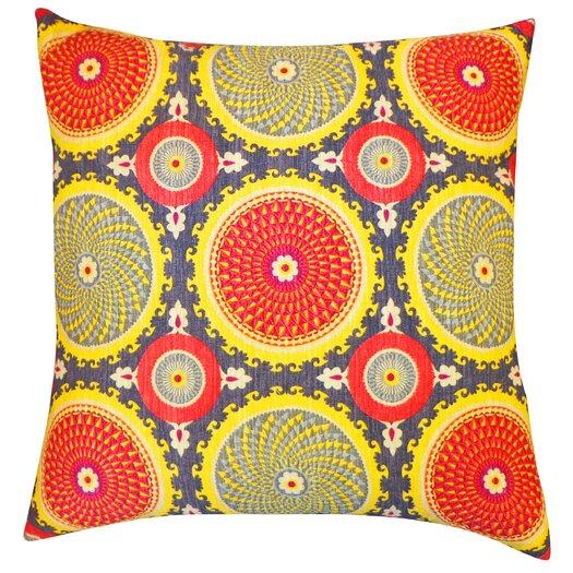 Jiti Coil Silk Throw Pillow