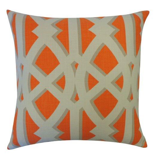Jiti Crossroads Cotton Throw Pillow