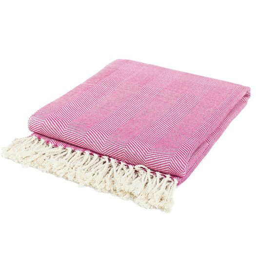 Pure Fiber Organic Cotton Throw Blanket