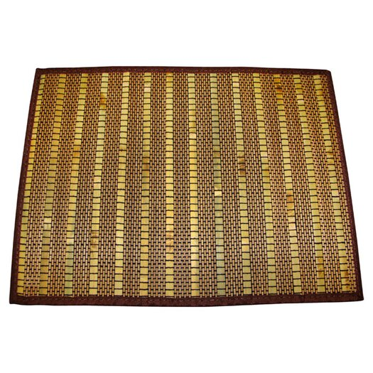 Textiles Plus Inc. Bamboo Placemat