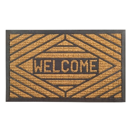 Imports Decor Molded Welcome Doormat
