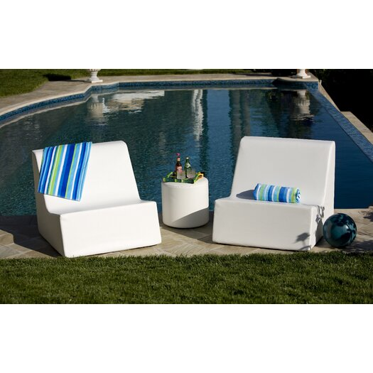 La-Fete Gaze 3 Piece Lounge Seating Group