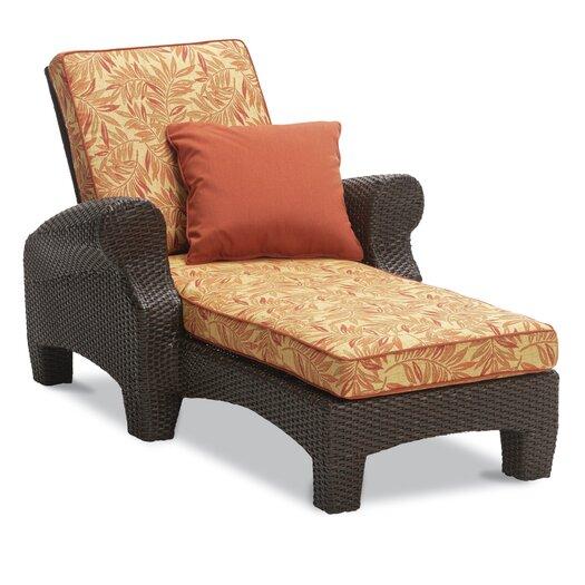 Sunset West Santa Barbara Single Chaise Lounge with Cushion