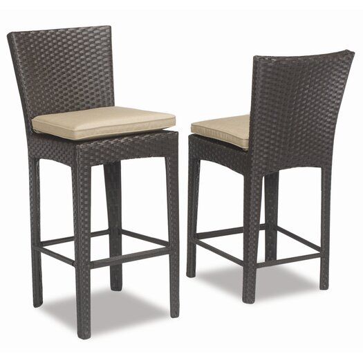 "Sunset West Malibu 30"" Bar Stool with Cushion"