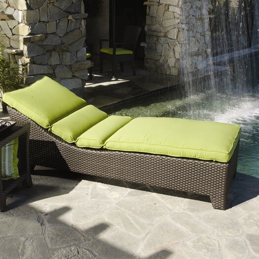 Sunset West Malibu Chaise Lounge with Cushion