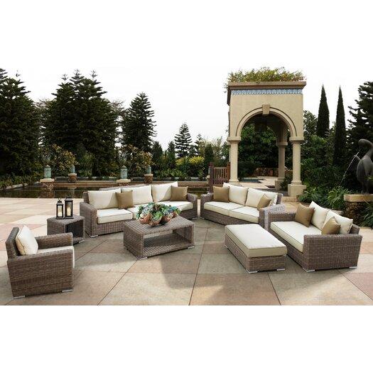 Sunset West Coronado 7 Piece Deep Seating Group with Cushions
