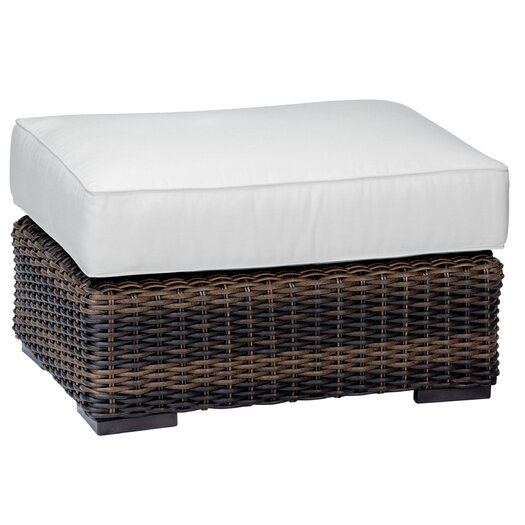 Sunset West Montecito Ottoman with Cushion