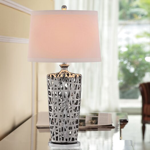 """Catalina Lighting 34"""" H Table Lamp with Drum Shade"""