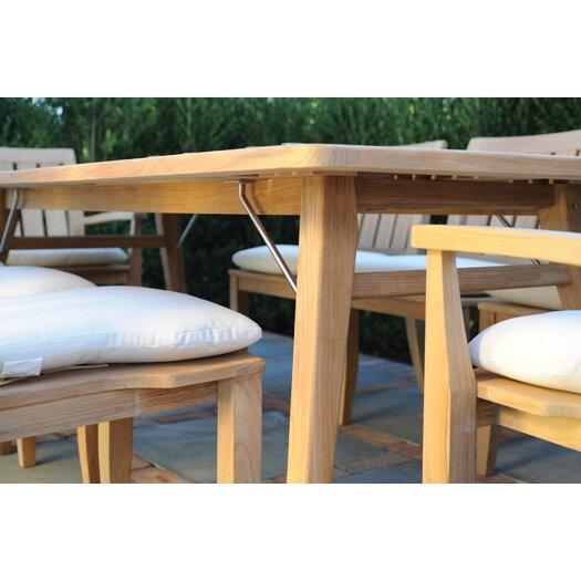 Kingsley Bate Ipanema Rectangular Dining Table