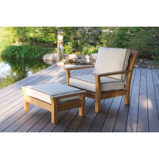 Kingsley Bate Chelsea Deep Seating Chair with Cushion
