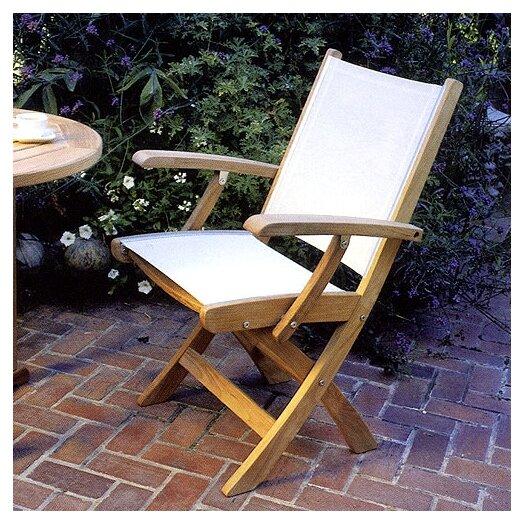 Kingsley Bate St.Tropez Folding Dining Arm Chair