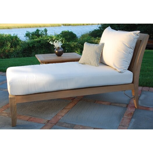Kingsley Bate Ipanema Sectional Chaise Lounge with Cushions