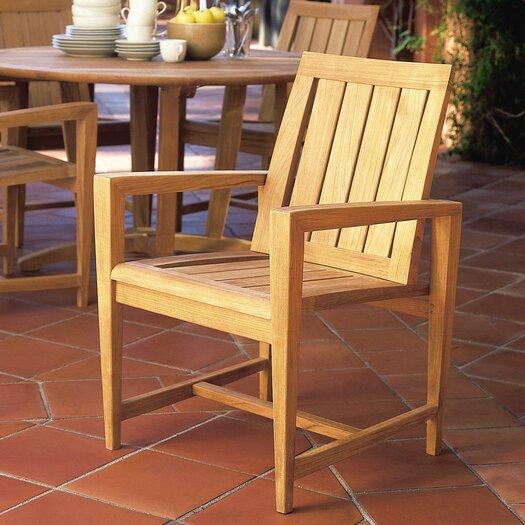 Kingsley Bate Amalfi Dining Arm Chair with Cushion
