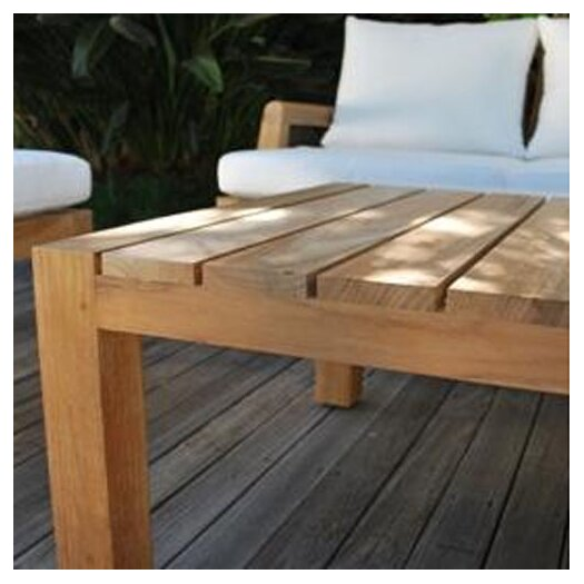 Kingsley Bate Mendocino Rectangular Coffee Table