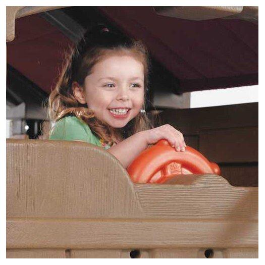"Step2 88.5"" x 147"" Adventure Lodge Play Center Swing Set"