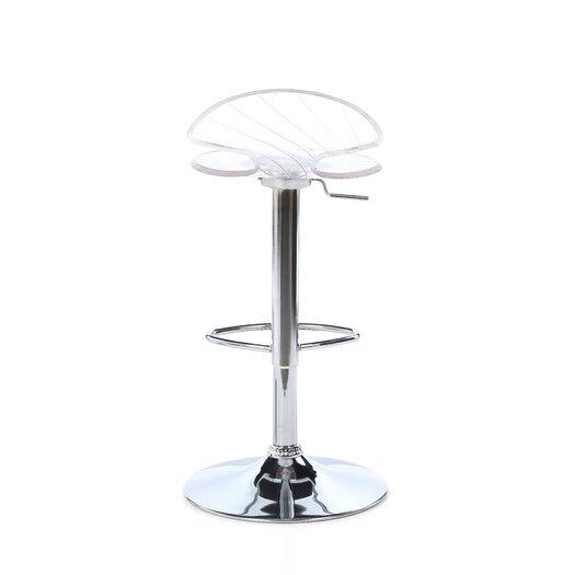 LumiSource Spyra Adjustable Height Swivel Bar Stool