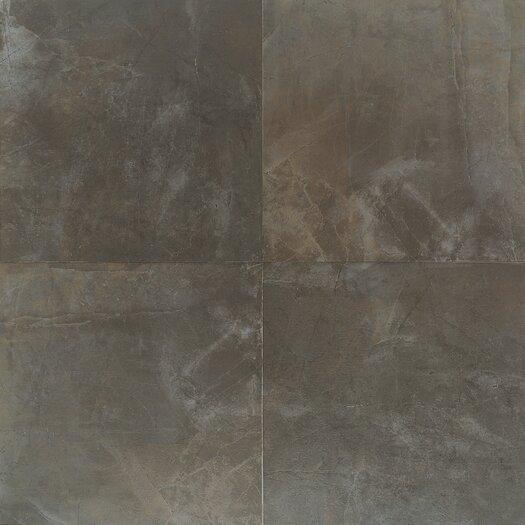 """Daltile Concrete 13"""" x 13"""" Porcelain Field Tile in City Elm"""