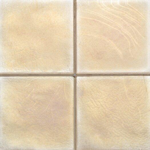 "Daltile Cristallo Glass 4"" x 4"" Field Tile in Smoky Topaz"