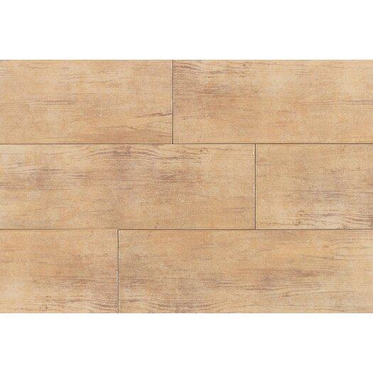 Daltile Timber Glen 4'' x 24'' Porcelain Wood Tile in Hickory