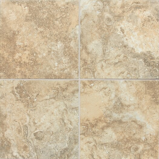 "Daltile San Michele 18"" x 18"" Porcelain Field Tile in Dorato"