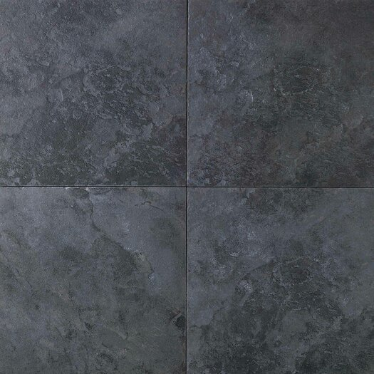 Daltile Continental Slate 18'' x 18'' Porcelain Field Tile in Asian Black