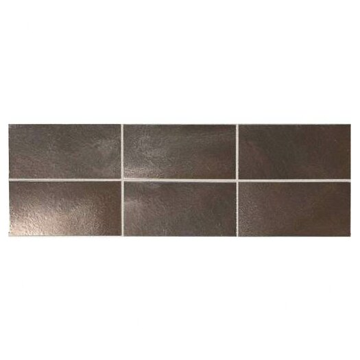 Daltile Urban 2'' x 4'' Metal Field Tile in Bronze