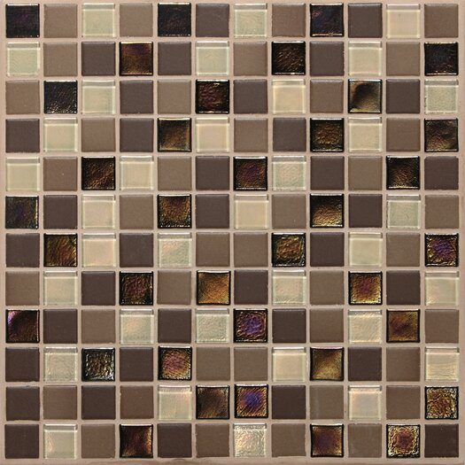"Daltile Keystones Blends 1"" x 1"" Porcelain Mosaic Tile in Treasure Island"