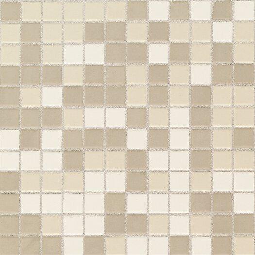 "Daltile Keystones Blends 1"" x 1"" Ceramic Mosaic Tile in Beach"