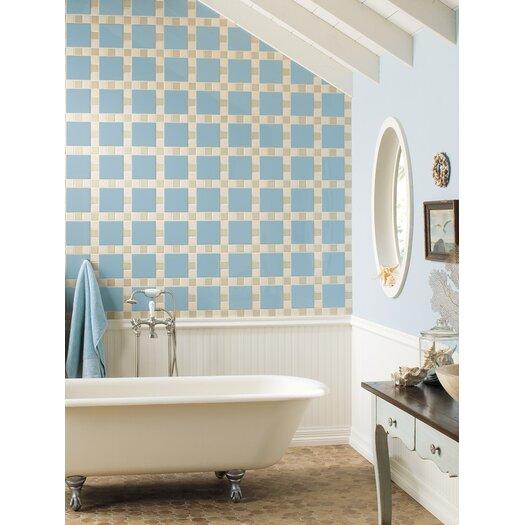 """Daltile Permatones Plain 2"""" x 2"""" Porcelain Mosaic Tile in Matte Almond"""