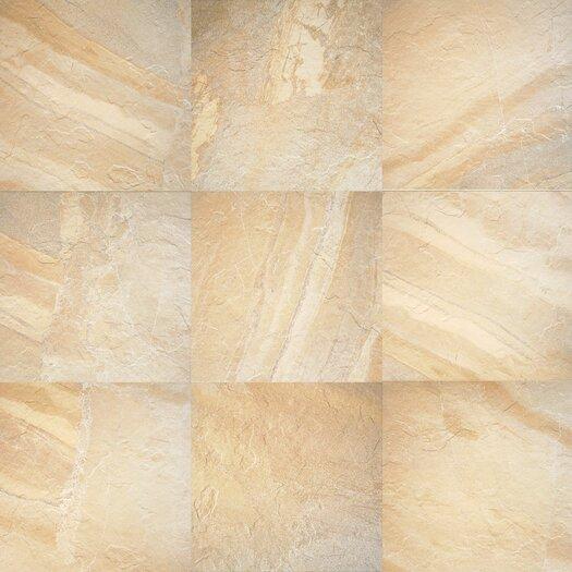 Daltile Ayers Rock 6.5'' x 6.5'' Porcelain Field Tile in Solar Summit