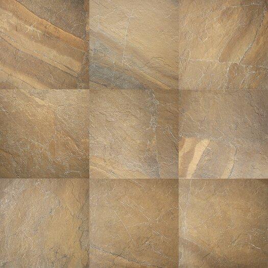 "Daltile Ayers Rock 13"" x 20"" Porcelain Field Tile in Bronzed Beacon"