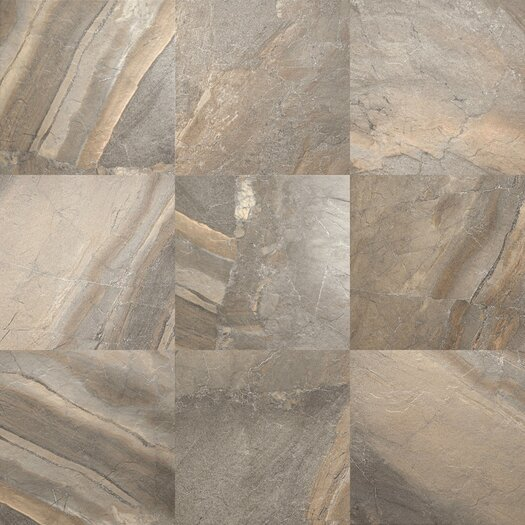 "Daltile Ayers Rock 13"" x 13"" Porcelain Field Tile in Majestic Mound"