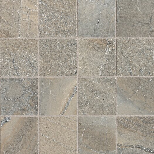 "Daltile Ayers Rock 3"" x 3"" Porcelain Mosaic Tile in Majestic Mound"