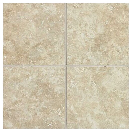 Daltile Heathland 18'' x 18'' Ceramic Field Tile in White Rock