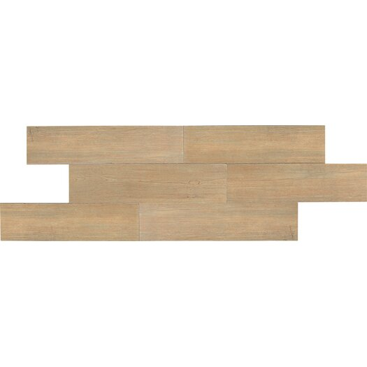 Daltile Terrace 6'' x 36'' Porcelain Wood Tile in Hickory