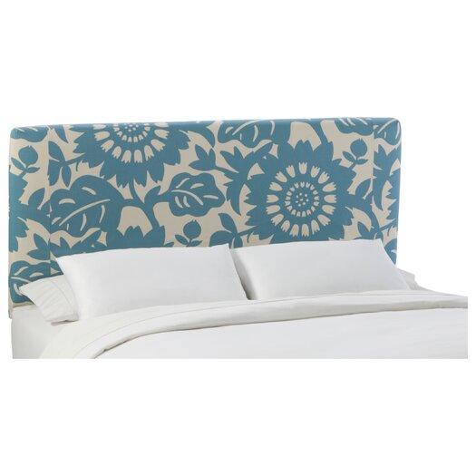 Skyline Furniture Slip Cover Gerber Cotton Upholstered Headboard