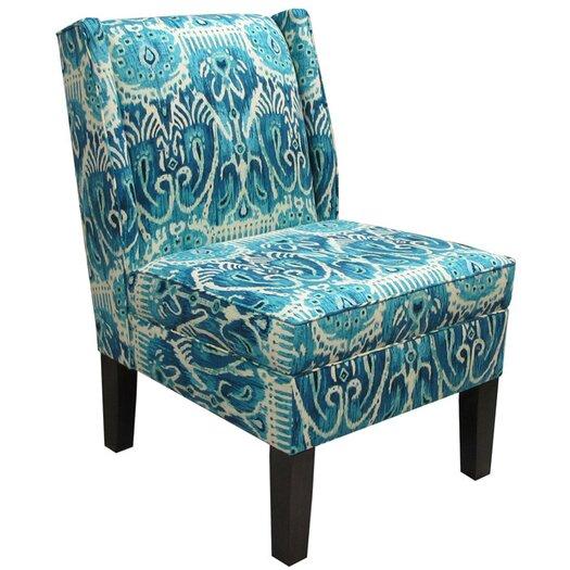 Skyline Furniture Alessandra Wingback Slipper Chair